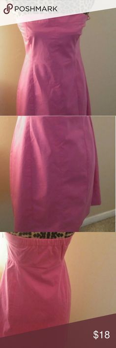 Theory strapless hot pink dress,size 8 New never worn  Theory strapless hot pink dress Size 8 Good for parties and nights out Theory Dresses Midi