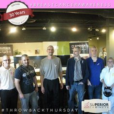 For #ThrowbackThursday we take a look at some committed team members who shaved their heads for the C95 Radio Marathon for #breastcancer Research. Superior Cabinets is a proud sponsor of C95 Radio Marathon for Breast Cancer Research every year. #tbt