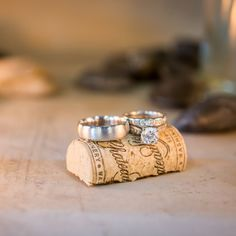 Love this winery wedding! Very creative pic to show the couple's love of wine! Winery Wedding in Washington by IJ Photo