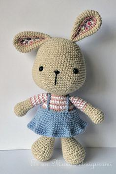 Es un Mundo Amigurumi: Coneja Pascua Grande...