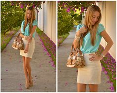 SPRING MODE:  ON ! (by Raquel Cañas) http://lookbook.nu/look/3188127-SPRING-MODE-ON