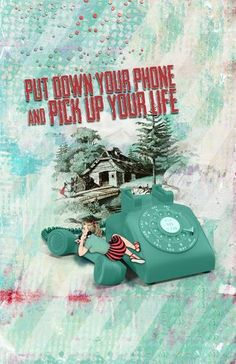 Pick Up Your Life by beszteri | created using digital products by Rucola Designs phone from PixelSquid
