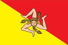 La storia della Sicilia è riassunta nella sua bandiera - Siciliafan