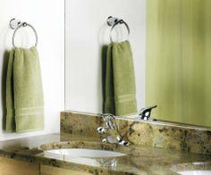 Chateau Chrome one-handle low arc bathroom faucet - L4621