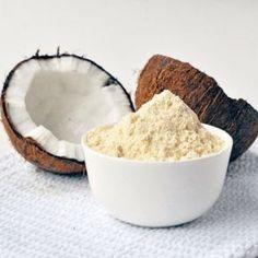 ¿Como preparar harina de coco?