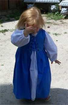 Renaissance Wee Lass Overdress/Chemise by celticrosedesigns, $45.00