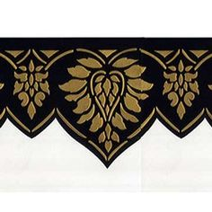 Wall Stencils | Oriental Brocade Frieze | Royal Design Studio