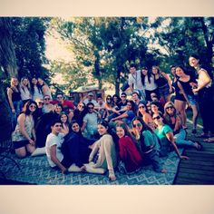 Every Sachlav participant visit the company ceo's house for a BBQ #Sachlav #Taglit www.israelonthehouse.com