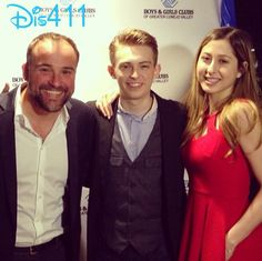 Photos: Dylan Riley Snyder With David DeLuise And Elizabeth Small At Boys And Girls Club Superstars Of The Year Event