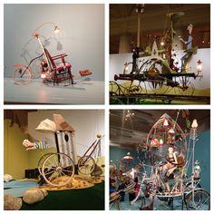 Rowland Emett's marvellous machines at Birmingham museum and art gallery.
