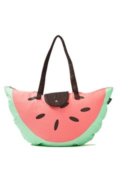 novelty tote bag, WATERMELON