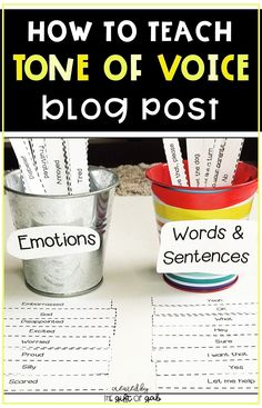 How to Teach Tone of Voice: In 4 Easy Steps Emotions Activities, Social Skills Activities, Teaching Social Skills, Speech Therapy Activities, Social Emotional Learning, Teaching Strategies, Speech Language Pathology, Speech And Language, Tone Of Voice