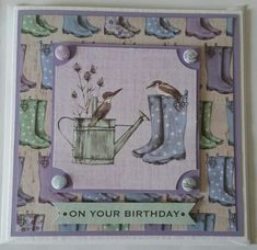Potting Shed ll by Craftwork Cards. Card made by Jane Compton