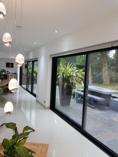 View some of the windows and doors we have fabricated for our customersw. Kitchen Diner Extension, Open Plan Kitchen Diner, Open Plan Kitchen Living Room, Open Plan Living, House Extension Plans, House Extension Design, House Design, Style At Home, House Extensions