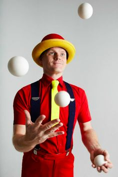 Circus juglere Costumes | Jugglers » Hafla Entertainment