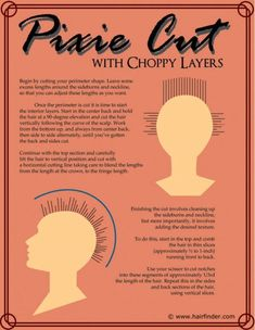 How to cut pixie with choppy layers! - #pixie #hairtips #haircut #hairstyle