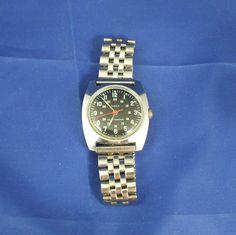 Vintage British Made Timex Military Wind Up Watch 23070 2473