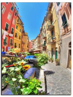 Cinque Terre, Liguria, Italy. That's it. I just need to go to Italy.