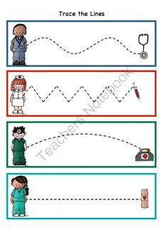 Preschool Printables: Doctor Printable