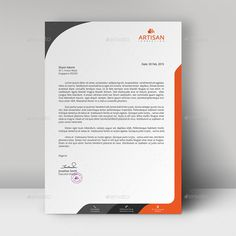 Buy Letterhead by artisanHR on GraphicRiver. Letterhead A simple unique letterhead for all kind of business and personal purpose usages. Company Letterhead Template, Free Letterhead Templates, Letterhead Design, Resume Design, Letterhead Business, Business Card Design, Magazine Ideas, Graphic Design Brochure, Brochure Inspiration
