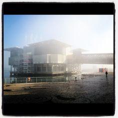 Neblina no mar ...