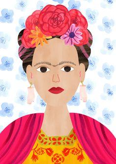Emily Nelson, Frida Blue.