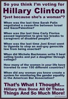 #ImWithHer #StrongerTogether #Hillary #HillaryWomen