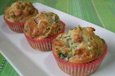 Muffins aux courgettes, thym et parmesan Weight Watchers, recette de muffins avec une croûte dorée, facile à préparer à croquer à toute heure de la journée.
