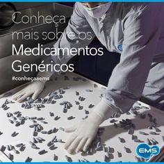 Os Medicamentos Genéricos passam por rigorosos testes de qualidade antes de terem seu registro e comercialização autorizados. Por isso, eles têm a mesma qualidade que o medicamento referência e vão produzir no organismo os mesmos efeitos. #conheçaaEMS