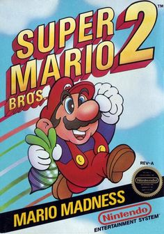 Super Mario Bros 2 - 1988 ony nes in japan is different game sequel of supermario bros 1 1985 relased in 1986
