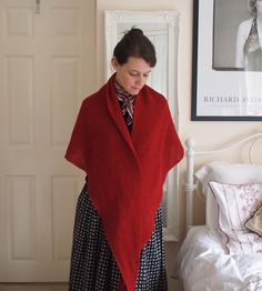 Ennid Laceweight Shawl from Northern Knits by Lucinda Guy