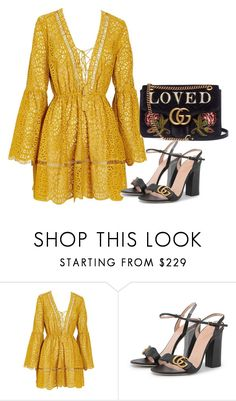 """""""gucci love"""" by meghanleeson on Polyvore featuring Gucci"""