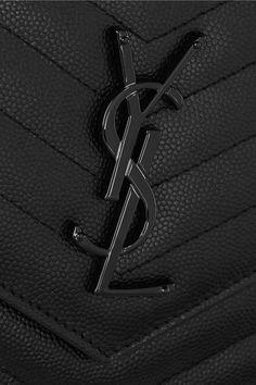 SAINT LAURENT Monogramme textured-leather shoulder bag $1,270.51 http://www.net-a-porter.com/products/513447
