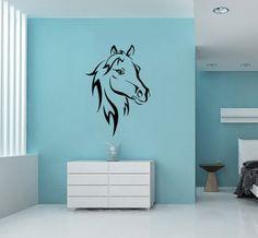 Horse Head Animal Vinyl Decal Wall Sticker Art by VinylDecals2U, $24.65