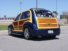 Woody PT Pt Cruiser Accessories, Woody Wagon, Chrysler Pt Cruiser, Cars And Motorcycles, Van, Vehicles, Amazon, Photos, Cars