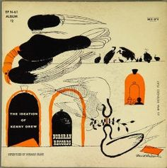 The Ideation of KennyDrew: Blue Note (7-inch EP 45rpm) cover by David Stone Martin
