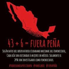 """""""43 + 6"""". FUE EL ESTADO: #YaMeCansé #MéxicoEstadoFallido #MéxicoViolento #Impunidad #Represión #DDHH #Ayotzinapa #Iguala #Guerrero #México #Normalistas #AyotzinapaSomosTodos #JusticiaParaAyotzinapa #JusticeForAyotzinapa #YoSoyAyotzinapa  #AcciónGlobalPorAyotzinapa #PresosPolíticosLIBERTAD #Artículo39RenunciaEPN #EPN #20NovMx #CriminalizaciónALaProtesta"""