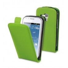 Etui Samsung Galaxy Trend Muvit Slim avec Film Protection Vert  13,99 €
