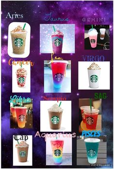 Libra, shit, now I want one. Zodiac Signs Chart, Zodiac Signs Sagittarius, Zodiac Star Signs, Zodiac Sign Facts, Astrology Signs, Pisces, Starbucks Recipes, Starbucks Drinks, Zodiac Signs Pictures