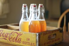 Weed 'em and Reap: Homemade Soda pop (hint...it's actually GOOD for you instead of trying to kill you like regular or diet soda!!!)!