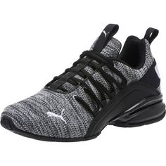 PRODUCT STORYUp your game with the Axelion. The Axelion is a true gamechanger for everyday comfortable training shoes. Classic Sneakers, All Black Sneakers, Mens Puma Shoes, Mens Jogger Pants, Mens Training Shoes, Fresh Shoes, Pumas Shoes, Men's Shoes, Running Shoes For Men
