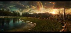The Pond Of Fate by Shue13.deviantart.com on @deviantART