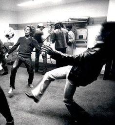 Bob Marley and Jimi Hendrix