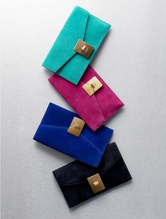 Envelope clutch - Talbots. Who woulda thunk?