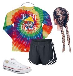 """""""Untitled #65"""" by faithjones1223 on Polyvore featuring Converse and NIKE"""