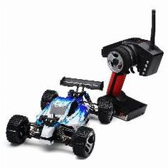 [ 42% OFF ] 50Km/h 1/18  Wltoys A959 Rc Car 2.4Gh 4Wd Off-Road Buggy With Transmitter Rtr