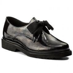 Oxford cipők LASOCKI - VIRUS-01 Fekete