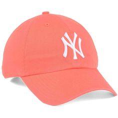 eac6b5e97348 Brand New York Yankees Grapefruit Clean Up Cap - Orange Adjustable