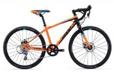Giant Tcx Espoir 24 Kids Cyclocross Bike 2017 This compact 'cross machine for young riders is big on performance. Built around a lightweight ALUXX aluminium frame with youth specific compact geometry the TCX Espoir 24 has a low stand-over height  http://www.MightGet.com/april-2017-1/giant-tcx-espoir-24-kids-cyclocross-bike-2017.asp