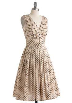 Glamour Power to You Dress in Blueberry Muffin | Mod Retro Vintage Dresses | ModCloth.com